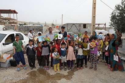 باشگاه خبرنگاران -طرح عیدانه کانون پرورش فکری کودکان و نوجوانان در مناطق زلزله زده کرمانشاه
