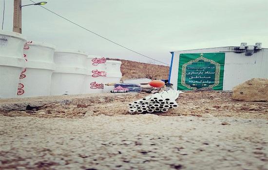 ادامه فعالیت های سازندگی گروه جهادی قرارگاه امام رضا (ع) در مناطق زلزله زده استان کرمانشاه