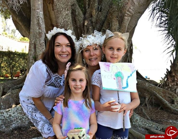 ازدواج زن آمریکایی با یک درخت انجیر! + تصاویر///////////////