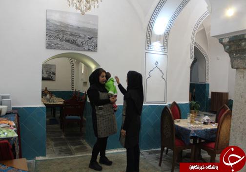بازدید گردشگران نوروز از حمام گپ خرم آباد به روایت تصویر