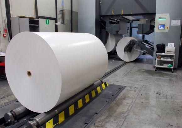 وقتی از سنگ کاغذ تولید می شود