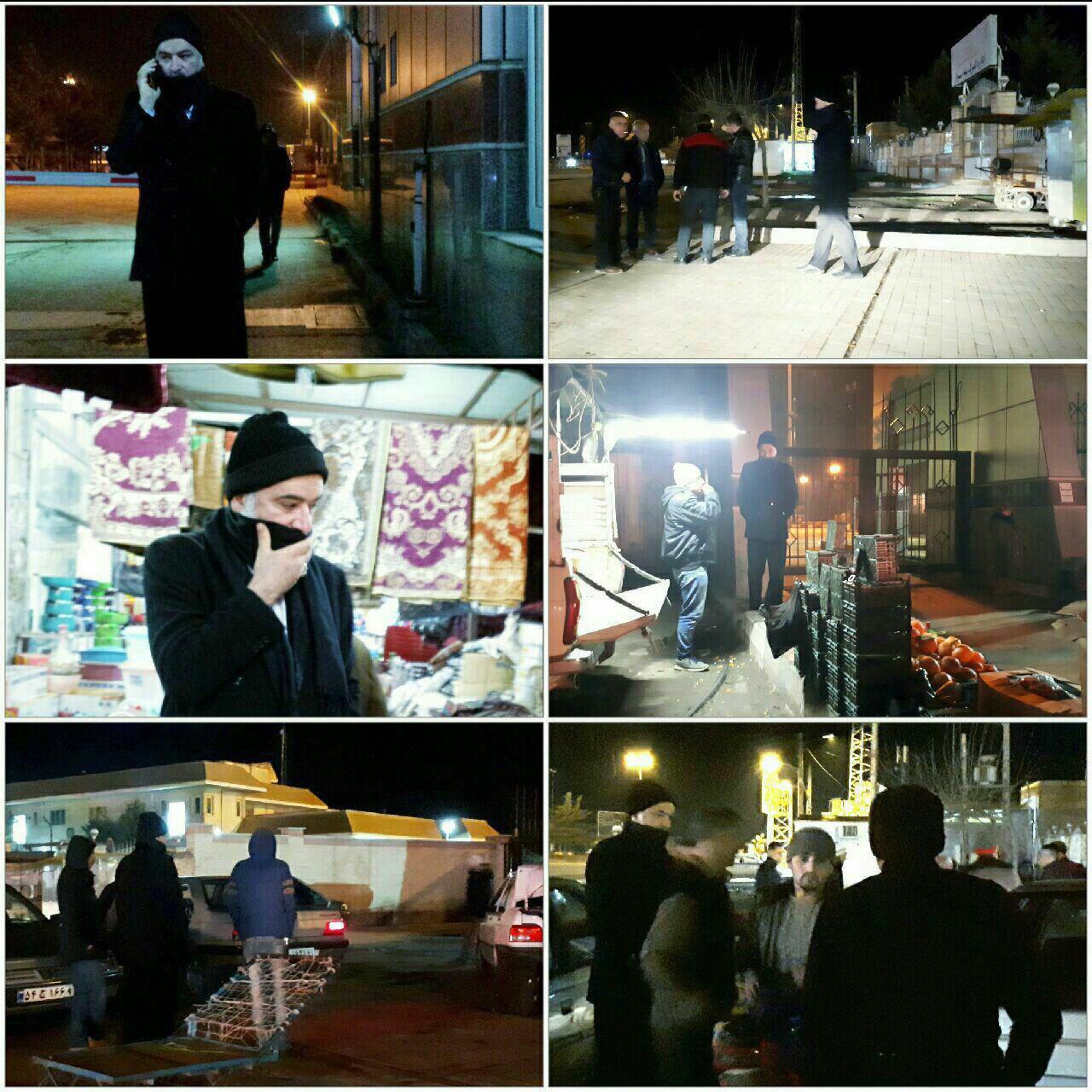 امام جمعه بیله سوار اردبیل با لباس مبدل در گمرک این شهر حاضر شد +تصاویر