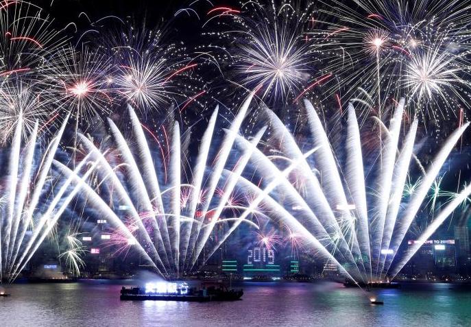 جشن سال نوی میلادی در گوشه و کنار جهان+ تصاویر