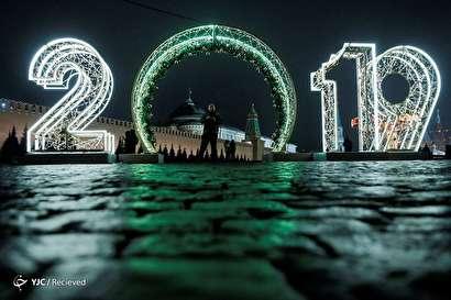 جشن سال نو میلادی در سراسر دنیا