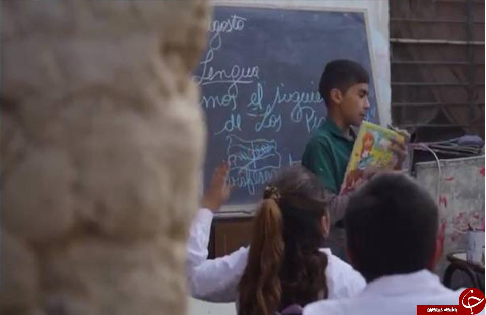 دانشآموز ۱۲ سالهای که مدیریت یک مدرسه را بر عهده دارد +عکس