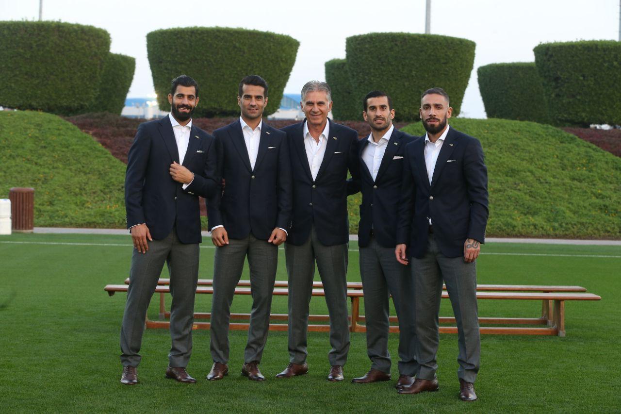 رونمایی از لباس ملی پوشان فوتبال ایران در جام ملتهای آسیا
