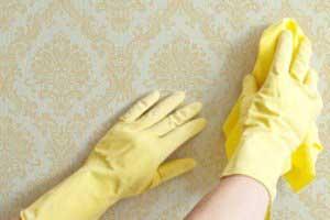 روشهای تمیز کردن کاغذ دیواری