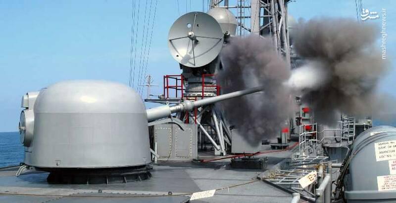 مرگبارترین توپ دریایی ایران آماده مقابله با موشک های کروز شد/ تجهیز گلوله های <<فجر ۲۷>> به فیوز های مجاورتی +عکس