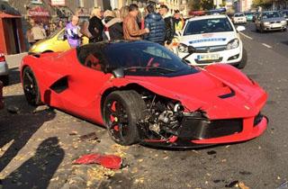 10 تصادف خودروهای لوکس و سوپراسپرت با بازدید میلیونی +فیلم