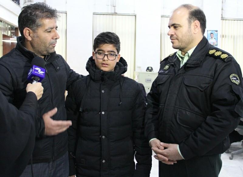 نجات نوجوان ۱۳ ساله از چنگ آدمربایان/گروگانگیران دستگیر شدند