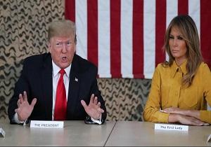 پشت پرده سفر محرمانه ترامپ به عراق
