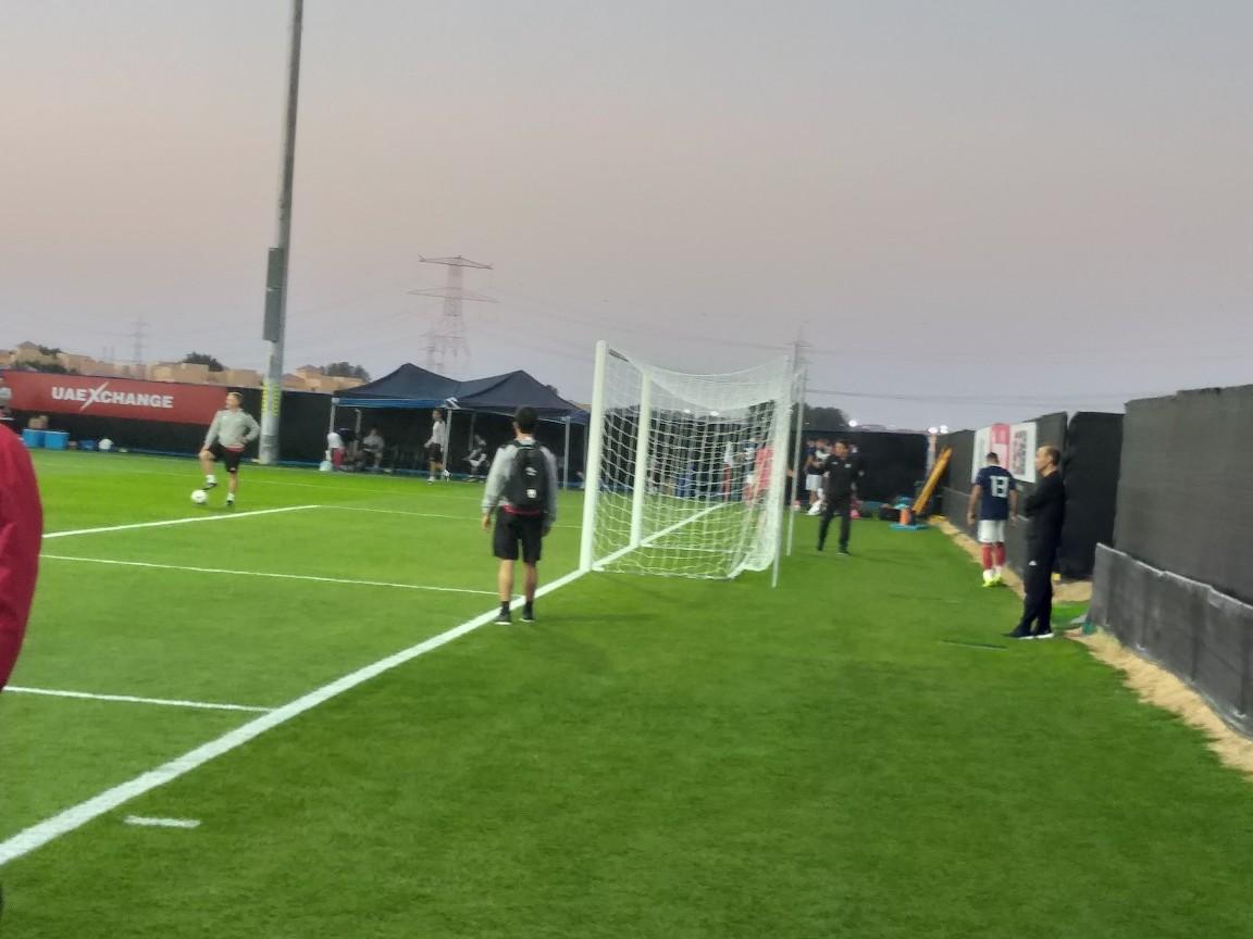 تمرین اختصاصی ۲ ملی پوش/ هواداران در تمرین تیم ملی فوتبال حاضر شدند