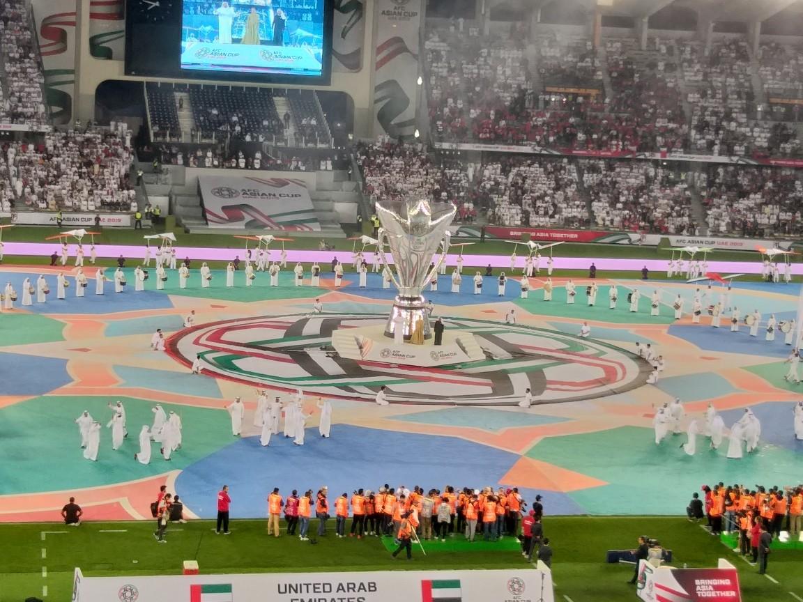 لحظه به لحظه با افتتاحیه جام ملت های آسیا