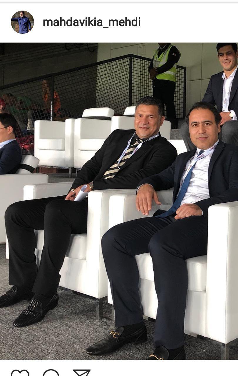 حضور چهره های ایرانی در مراسم افتتاحیه جام ملتهای آسیا