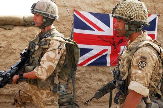 زخمی شدن دو نظامی انگلیسی در سوریه