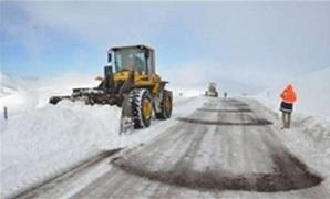 راه ۴ روستای بخش نوبران ساوه همچنان مسدود است