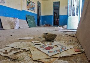 مدرسه متروکه در شهر کوریه + فیلم