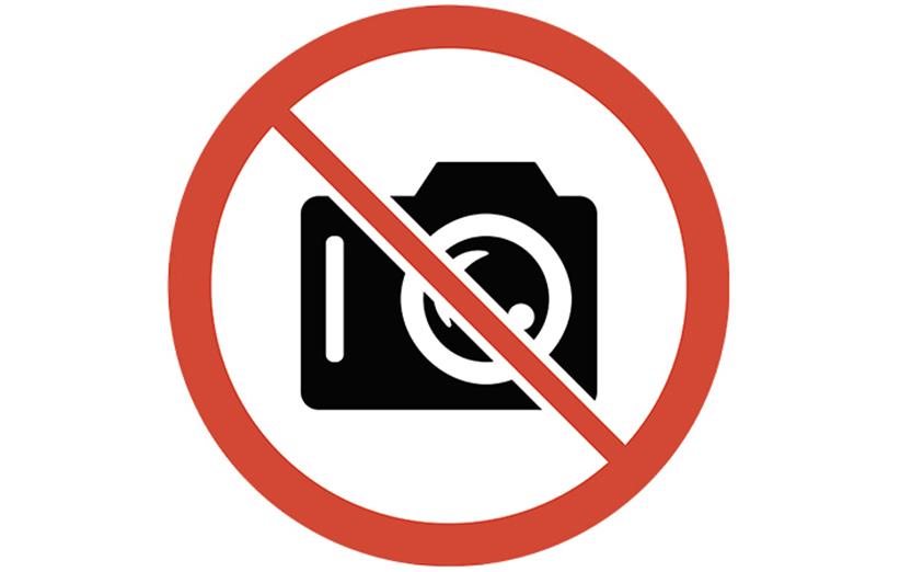 عکس گرفتن در این مکانها ممنوع! + تصاویر