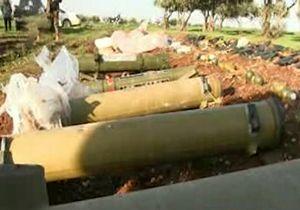 کشف موشکهای ضد زره تاو از ترویستها در سوریه + فیلم