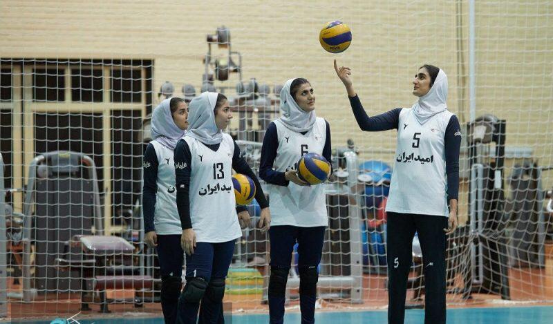 والیبالیست فارس در اردوی تیم ملی