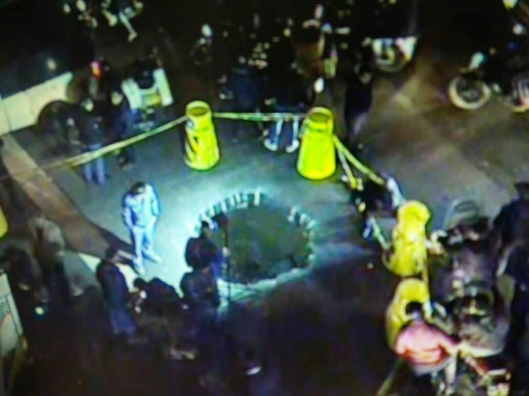 نشست زمین در چهارراه مولوی/ اعمال محدودیت ترافیکی در خیابان مصطفی خمینی