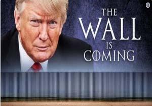 ترامپ به جای ساخت دیوار به حصار فولادی راضی شد!