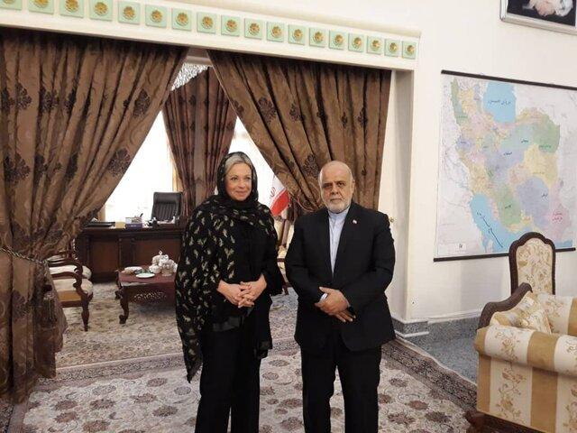 رایزنی نماینده ویژه دبیرکل سازمان ملل متحد در امور عراق با ایرج مسجدی