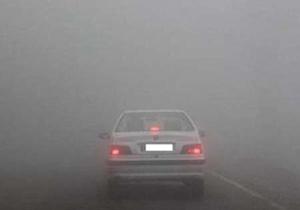 مه گرفتگی در محور دهلران- اندیمشک