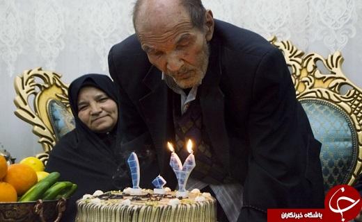 جشنی به پاس یک قرن زندگی + تصاویر