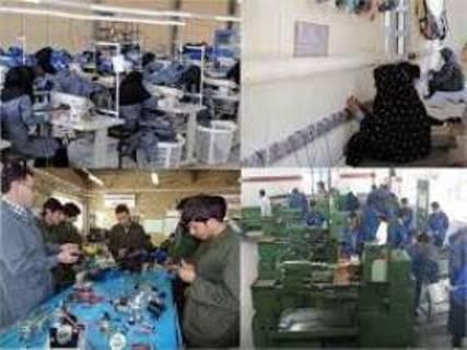 بهره مندی مددجویان خوزستانی از آموزش های تخصصی فنی و حرفه ای