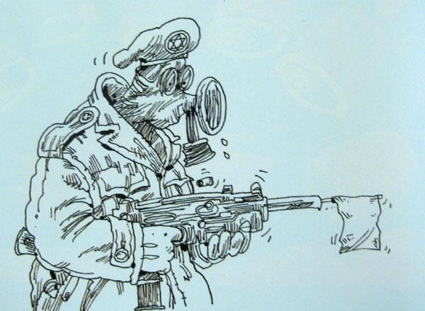 هنر انقلابی از مظلوم حمایت میکند/ اقدامهای جدی در حوزه کاریکاتور بعد از انقلاب شکل گرفت