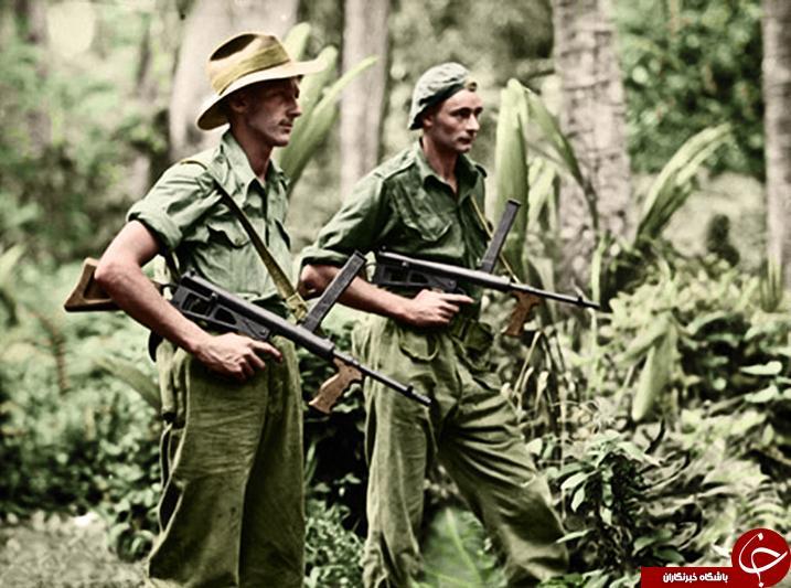 تصاویر رنگی دیده نشده از جنگ جهانی دوم