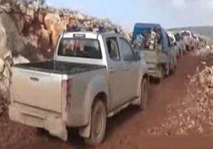 خروج هزار فرد مسلح از شهر اتارب
