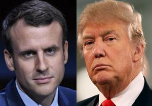 گفتگوی تلفنی ترامپ و مکرون درباره داعش و خروج از سوریه