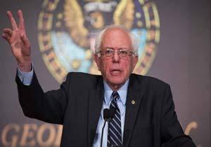 برنی سندرز: مردم آمریکا به دولتی نیاز دارند که برای همه کار کند نه فقط برای یک درصد جامعه