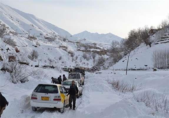 باشگاه خبرنگاران - کولاک، برای سومین بار راه ۴۷ روستا در استان زنجان را بست