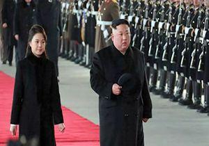 تدابیر شدید امنیتی در پکن به دلیل حضور رهبر کره شمالی در این شهر + فیلم
