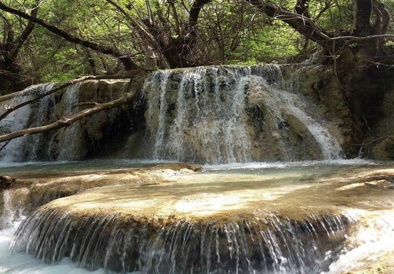 سفر هوایی به طبیعت زیبای آبشار نایانگیز؛ لرستان+فیلم