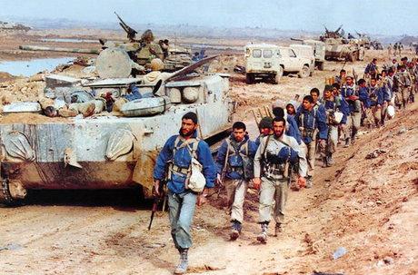 حمله،ارتش،ستاد،عراقي،رييس،تلفات،فريب،رزمندگان،شلمچه،غافلگيري ...