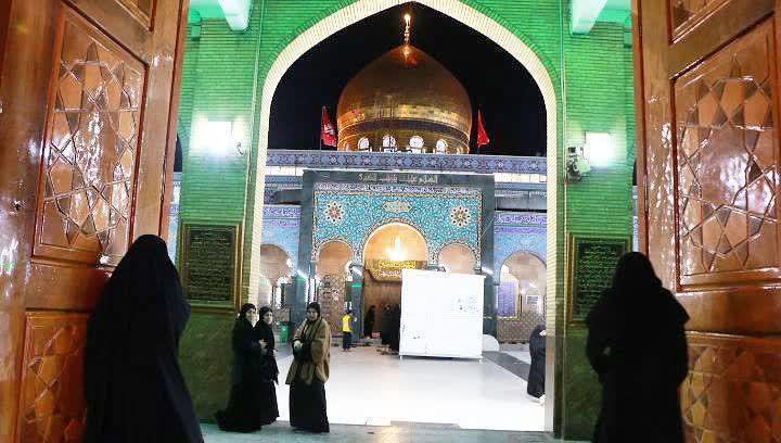 باشگاه خبرنگاران -حرم حضرت زینب(ع) گلباران می شود+تصاویر