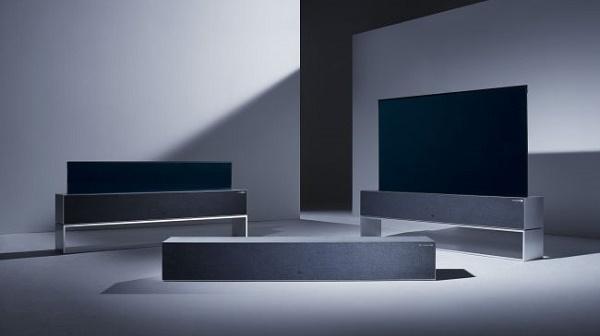نمایشگاه CES 201 | الجی از اولین تلویزیون جمع شونده خود رونمایی کرد +فیلم