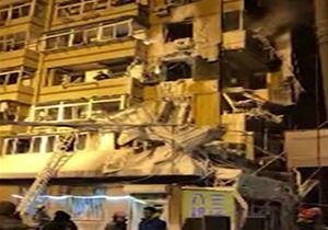 انفجار مرگبار گاز در یک ساختمان مسکونی در چین + فیلم