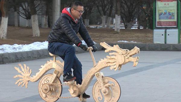 بستني،سون،چائو،چوب،دوچرخه