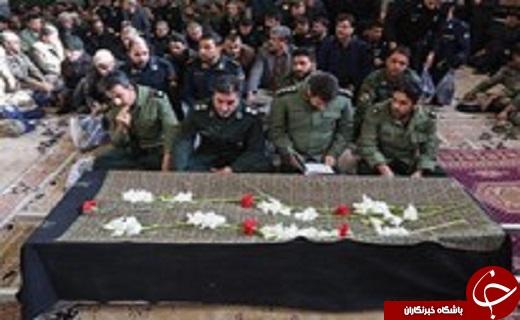 برگزاری مراسم خاکسپاری والده امیر موسوی در قم