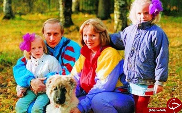 تصاویری نادر از رئیس جمهور روسیه که تا به حال ندیده اید