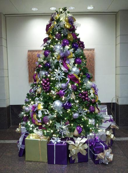 درختهای کریسمس جز جدا نشدنی جشنهای سال نو میلادی