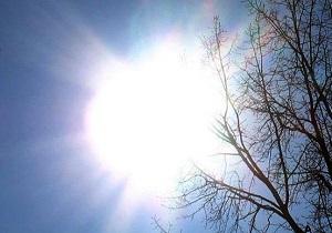 آسمان قم صاف است