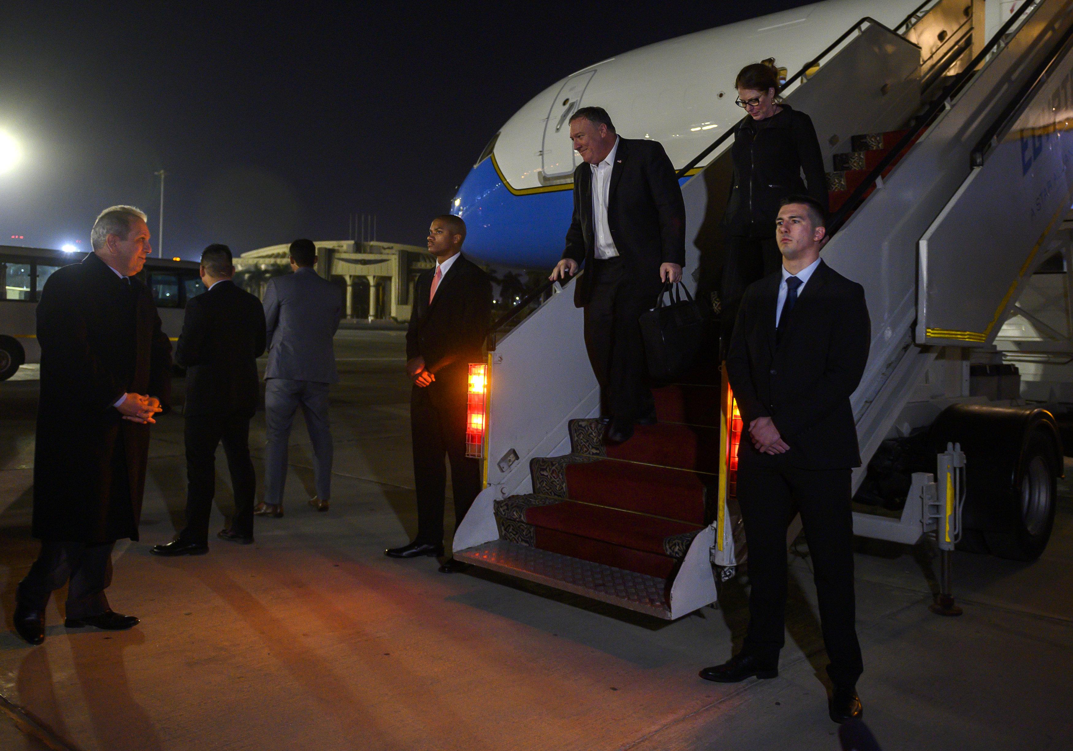 سفر وزیر خارجه آمریکا به مصر