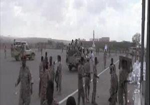 حمله پهپادی رزمندگان یمنی به پایگاه العند در استان لحج + فیلم