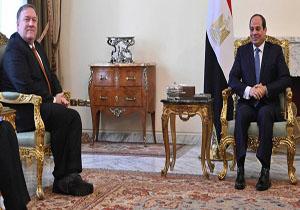 پمپئو با رئيس جمهور و وزیر خارجه مصر دیدار کرد/ اظهارات تکراری وزیر خارجه آمریکا علیه ایران